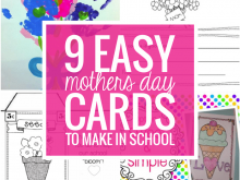 Mother'S Day Card Template Ks2