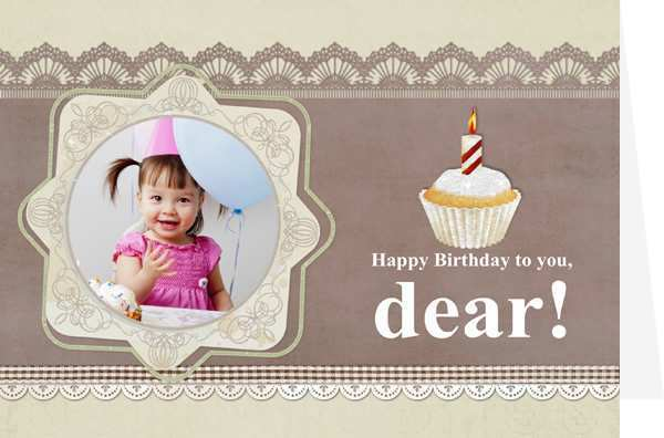 80 The Best Baby Happy Birthday Card Template Now by Baby Happy Birthday Card Template