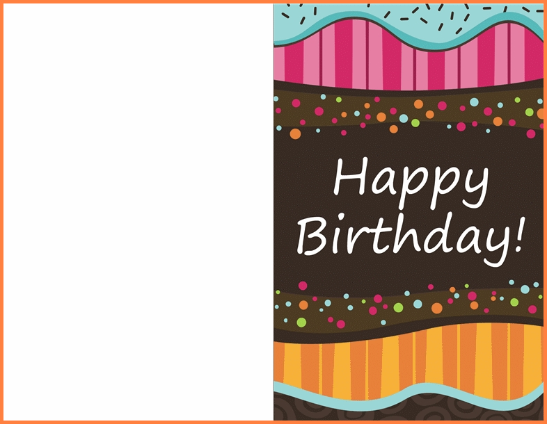 80 The Best Birthday Card Template In Word Download for Birthday Card Template In Word