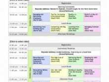 80 The Best Conference Agenda Template Excel For Free with Conference Agenda Template Excel