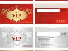 80 The Best Vip Card Template Free Download with Vip Card Template Free