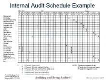 Audit Plan Form Template