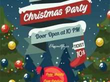 81 Best Christmas Party Flyer Template Free With Stunning Design for Christmas Party Flyer Template Free
