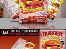 81 Blank Burger Promotion Flyer Template Templates for Burger Promotion Flyer Template