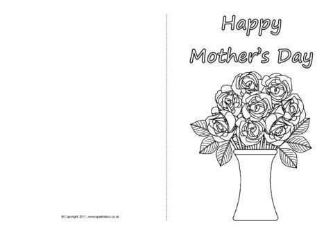81 Blank Mother S Day Card Template Sparklebox Download for Mother S Day Card Template Sparklebox