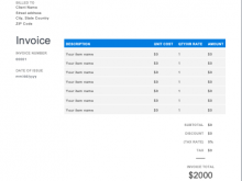 81 Create Car Garage Invoice Template Layouts by Car Garage Invoice Template