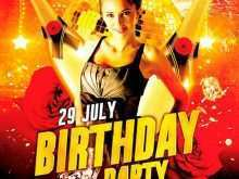 81 Creating Birthday Flyer Template Photoshop With Stunning Design by Birthday Flyer Template Photoshop