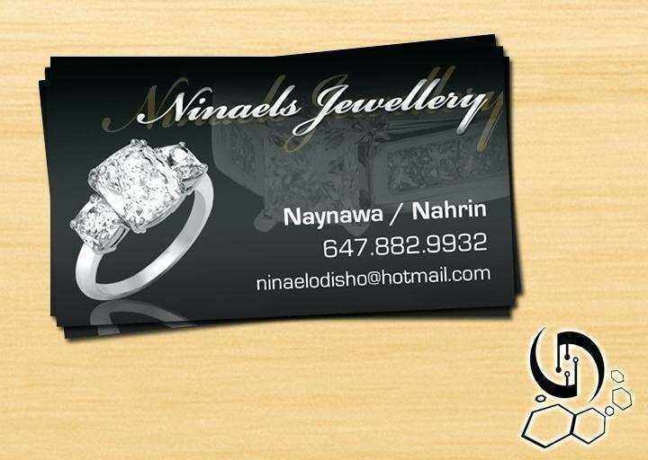 81 Creating Business Card Template For Jewellery Formating for Business Card Template For Jewellery