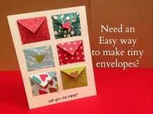 81 Customize How To Make A Card Envelope Template in Word by How To Make A Card Envelope Template