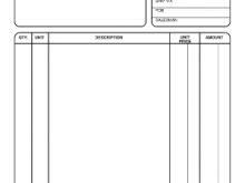 81 Customize Our Free Blank Invoice Template Maker for Blank Invoice Template