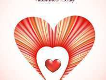 Valentine'S Day Card Heart Design Templates