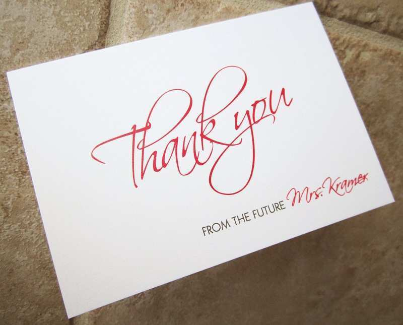 81 Free Bridal Shower Thank You Card Templates in Word by Free Bridal Shower Thank You Card Templates
