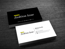 Business Card Online Design Script