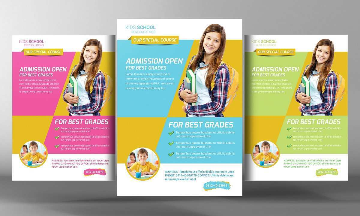 81 How To Create Free Education Flyer Templates Layouts for Free Education Flyer Templates