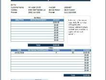 81 Online Automotive Repair Invoice Template Download by Automotive Repair Invoice Template