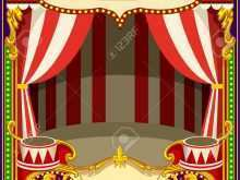 81 Online Circus Tent Card Template in Photoshop with Circus Tent Card Template
