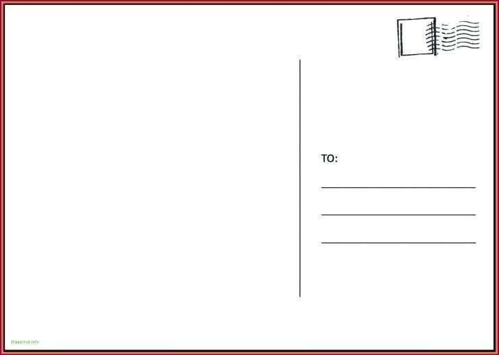 81 Printable A4 Postcard Template With Lines Templates with A4 Postcard Template With Lines