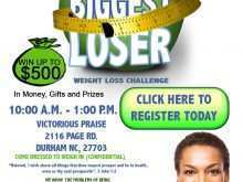 81 Printable Biggest Loser Flyer Template for Biggest Loser Flyer Template