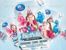 81 Report Birthday Party Invitation Flyer Template Formating for Birthday Party Invitation Flyer Template