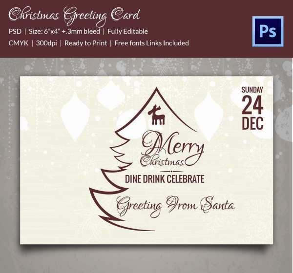 81 Report Christmas Card Templates To Download PSD File for Christmas Card Templates To Download