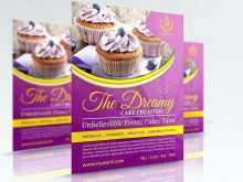 Cupcake Flyer Templates Free