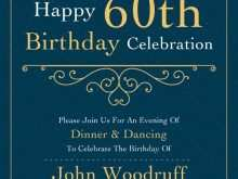 81 Standard 60Th Birthday Card Template Free Layouts by 60Th Birthday Card Template Free