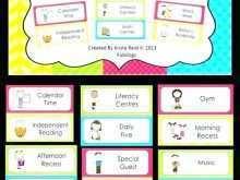 81 The Best Class Schedule Template For Teachers Formating by Class Schedule Template For Teachers