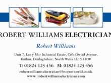 81 Visiting Business Card Template Electrician Formating by Business Card Template Electrician
