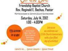81 Visiting Church Picnic Flyer Templates Formating by Church Picnic Flyer Templates