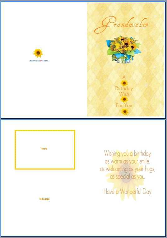82 Best Birthday Card Templates For Grandma Templates with Birthday Card Templates For Grandma