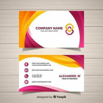 82 Big Name Card Template Photo by Big Name Card Template