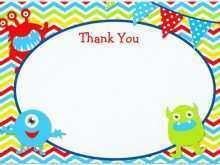 Colour In Thank You Card Template