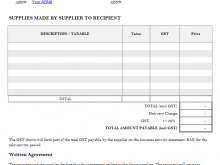 82 Create Blank Tax Invoice Template for Ms Word by Blank Tax Invoice Template