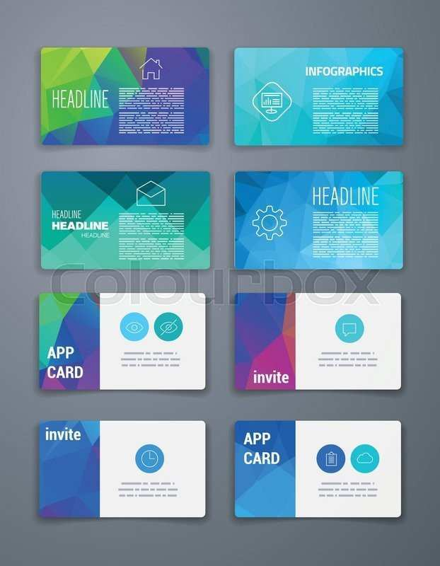 82 Create Business Card Template App Formating for Business Card Template App