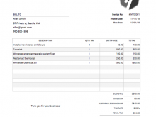 82 Customize A Invoice Template Now with A Invoice Template