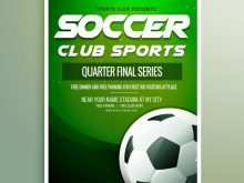 82 Customize Free Soccer Flyer Template in Photoshop with Free Soccer Flyer Template