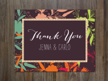 82 Customize Our Free Adobe Illustrator Thank You Card Templates Photo for Adobe Illustrator Thank You Card Templates