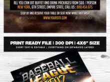 82 Customize Our Free Baseball Flyer Template Free For Free for Baseball Flyer Template Free