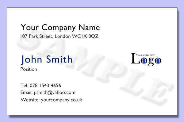 82 Format Business Card Templates Uk For Free for Business Card Templates Uk