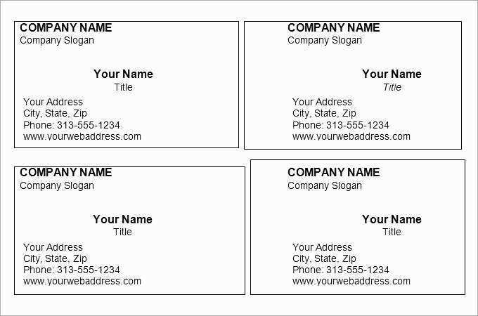 82 Format Business Card Templates Word 2013 in Word by Business Card Templates Word 2013