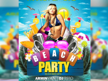 82 Format Party Flyer Free Template Layouts by Party Flyer Free Template