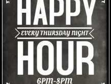 82 Free Happy Hour Flyer Template Free Download by Happy Hour Flyer Template Free