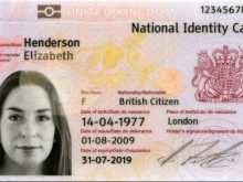 Medical Id Card Template Uk