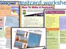 82 How To Create Postcard Template Esl PSD File by Postcard Template Esl