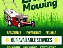 82 Online Free Lawn Mowing Flyer Template Maker with Free Lawn Mowing Flyer Template