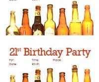 82 Printable 21St Birthday Card Invitation Templates Download by 21St Birthday Card Invitation Templates