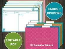 82 Printable 4X6 Index Card Printing Template Formating for 4X6 Index Card Printing Template