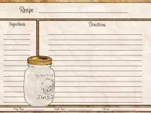Recipe Card 4X6 Template Free Download