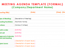 82 Report Best Meeting Agenda Template Photo for Best Meeting Agenda Template