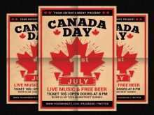 82 Standard Canada Day Flyer Template in Word by Canada Day Flyer Template